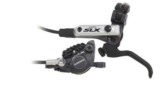 Shimano SLX BR-M675 Skivebremse Forhjul sort/sølv